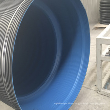1000mm hdpe spiral corrugated drainage pipe