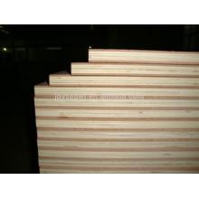 Contrachapado de madera de álamo / madera dura / Brich, contrachapado de sándwich, contrachapado comercial
