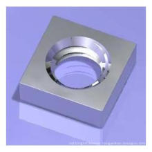 Carbon Steel Square Nuts Without Bevel/Pressed Nuts DIN562