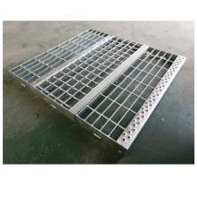 Industrial platforms steel gratings perforated metal stair steps
