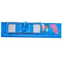 44 * 14 Синяя бытовая мягкая складная ручка для очистки плоских полов из микрофибры