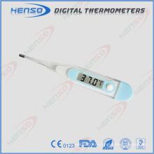 Termómetro transparente impermeable