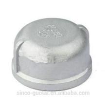 Tapa roscada de acero inoxidable astm a197 / a197m