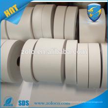 Auto-impressão barato auto-adesiva forte tamanho personalizado mini rolos de adesivo de casca de ovo de vinil destiláveis em branco de 50 m