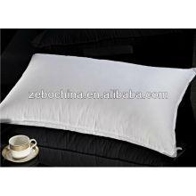 Fábrica de design de luxo direta feito por atacado soft hotel personalizado para baixo travesseiro