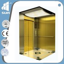 China Hersteller Geschwindigkeit 0,4 m / S und Traktion Maschine Typ Villa Aufzug