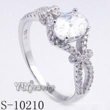 Zircônia jóias para mulheres anel (s-10210)
