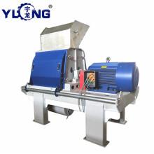YULONG GXP75*75 efb hammer mill machine