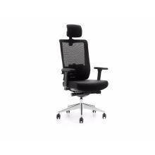 M6-A chaise de bureau chaise de bureau ergonomique haut dossier en maille chaise exécutive moderne