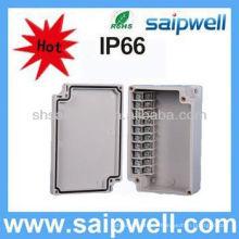 boîte de jonction imperméable d'ABS de vente chaude, boîte extérieure IP66 de terminaison de fibre