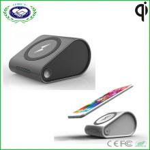 8000mAh Qi беспроводной зарядное устройство банка для iPhone 6 6s 6 Plus