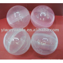 Transparent Empty Plastic Capsule for Toy Vending Machine