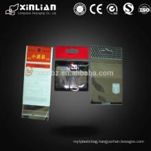 Header Self-adhesive Plastic Bags , Made of CPP or BOPP Material