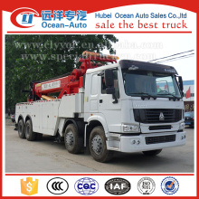 8x4 40Ton HOWO tow truck for sale