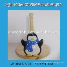Держатель керамической ткани высокого качества с формой пингвина