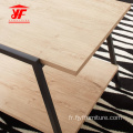 Table d'appoint empilable pour le travail du bois, design simple