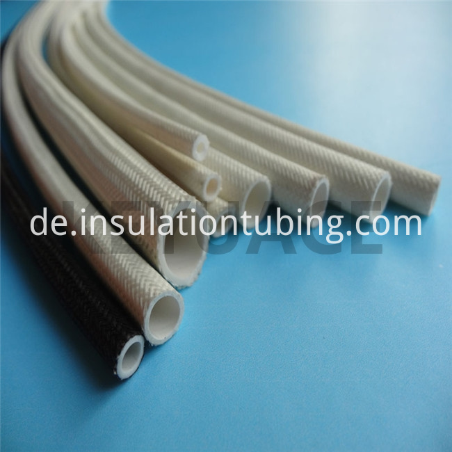 Fireproof Silicone Covered Fiber glass Braided Sleeve