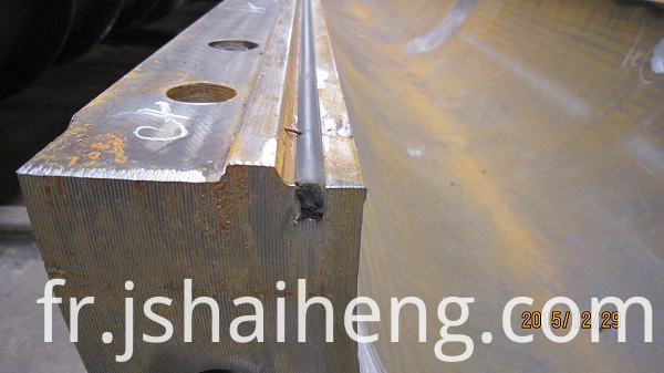 T sharp mould inner surface
