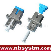 SC / PC - LC / PC HYBIRD adaptador simplex simple de metal