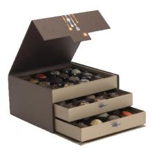 Разнослоистые Изготовленные На Заказ Роскошные Картон Бумажная Коробка Подарка Шоколада Упаковывая