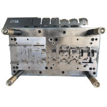 Industrial heavy Casters Steel bracket mould Continuous stamping die