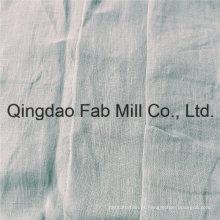 Confortável 100% tecido de linho para vestuário (QF16-2500)