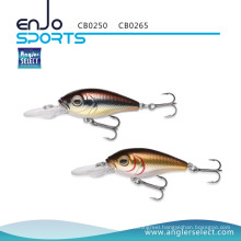 Angler Select Crankbait 5cm Shallow Lure Fishing Tackle with Vmc Treble Hooks (CB0250)