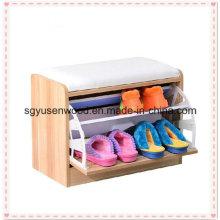 Modern New Design Display Wooden Shoe Cabinet