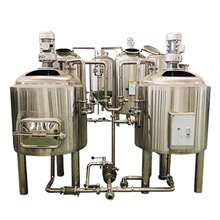 100L 1 BBL Mini Craft Beer Brewing Equipment Small Two Vessel Nano Brewery Equipment turnkey project for sale