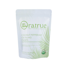 Food Plastic Biodegradabale Snack Nut Packaging Bag Recyclable Zipper Vacuum Retort Pouch