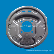10 inch trailer electric brake backing plate