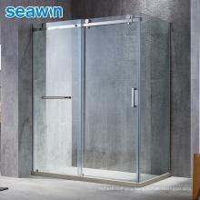 Seawin Room Full Set Wash Easy Installation Tray Cabin Pulleys Enclosure Sliding Shower Door