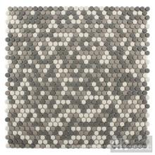 Мозаика из переработанной серой смеси в Small Roud