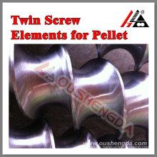 parallel twin screw pelletizing machine PE PP masterbatch PVC pipe profile window WPC sheet Bausano Weber Theysohn ZHOUSHAN