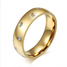 New design fashion gold name engraved printed wedding rings jewelry