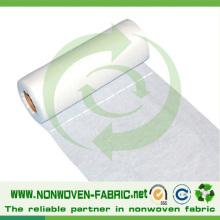 Tissu non tissé à perforation pour feuille de lit