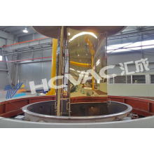 Tin Golden/Blue/Black Colors Decorative Coating PVD Machine for Steel Sheets