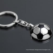 Alibaba hot sale custom keychain soccer customize