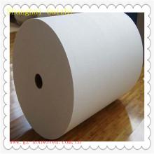 matéria prima molhada dos limpezas **** Rolos enormes não tecidos da tela de Spunlace