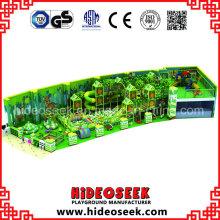 Forest Theme Indoor-Spielplatz mit Big Tube Slide