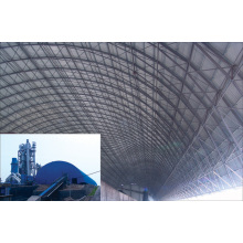 Prefab Steel Space Frame Coal Shed
