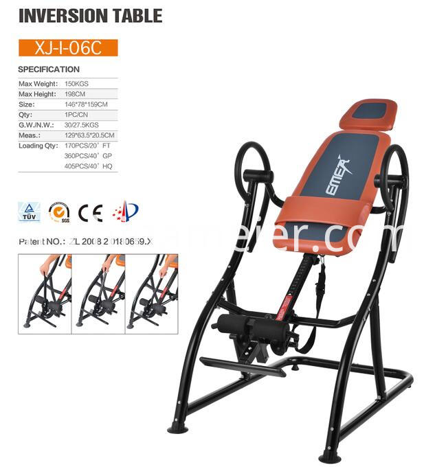 Standing Inversion Table