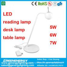 3 Jahre Garantie High Power Gute Qualität führte Leselampe / Schreibtischlampe / Tischlampe 7w