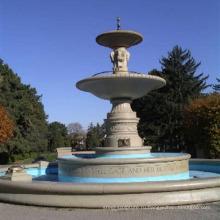 Ручной резной напольный каменный фонтан воды для продажи
