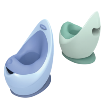 Novo Tipo Potty Spacecraft Shape Infantil Potty Trainer