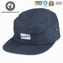 2016 Top Quality Denim Snapback Camper Cap with Custom Logo