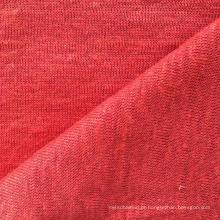 Tecido de malha de linho para t-shirt