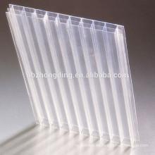 Zehn Jahre Garantie Triple Wall Polycarbonat Blatt für Gewächshaus Material