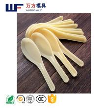 Прессформа ложки йогурта OEM изготовленная на заказ / прессформа ложки новой конструкции впрыски конструкции устранимая пластичная