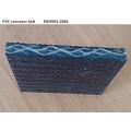 PVG PVC esteira resistente ao fogo